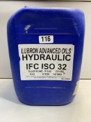 Lubron Advanced Oils Hydraulic Oil | IFC ISO 32