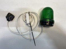 Green Hazard Light W/ Switch