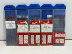 5 x Packs of Tungsten Welding Electrodes