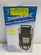 Silverline Battery & Charging System Tester