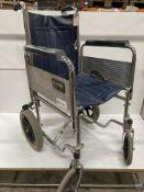 Shopmobility Collapsible Wheelchair w/ Brakes