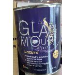 432 Tins Brand New & Sealed Lazura High Quality Gloss Finish Varnish Glaze   750ml   RRP £6,475