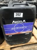 4 x 20L Drums of Akcela MS 1316 Gear 135H EP 85W-140