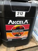 6 x 20L Drums of Akcela MAT 3525 Nexplore