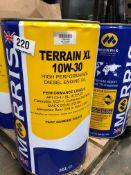 2 x 25L Drums of Morris TXL 025 Terrain XL 10W-30 High Performance Engine Oil