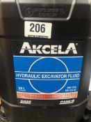 2 x 20L Drums of Akcela MS 1230 Hydraulic Excavator Fluid