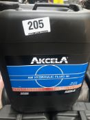 4 x 20L Drums of Akcela MS 216 AW Hydraulic Fluid 46