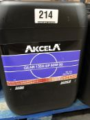 5 x 20L Drums of Akcela MS 1316 20L Gear 135H EP 80W-90