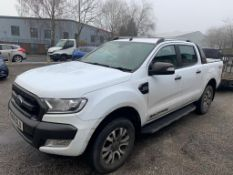 Ford Ranger Wildtrak 4x4 DCB T Diesel Pick-Up | YN68 OLU | 45,683 Miles