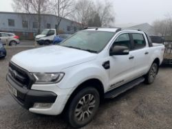 ONLINE AUCTION | 2 x Ford Rangers - 67 & 68 Plate | 3 x Skyjack Scissor Lifts - 2018 Models