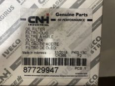 3 x CNH Oil Filters