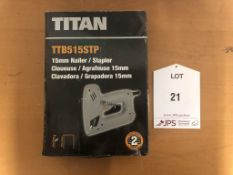 Titan TTB515STP Electric Nail/Staple Gun