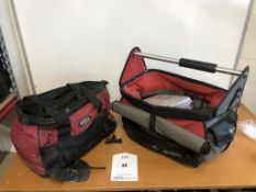 2 x Tool Carry Bags w/ Small Quantity of Hand Tools