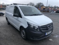 ONLINE AUCTION | Plant & Machinery | Mercedes-Benz Vito Van - 17 Plate | Intertek Snowblower | Snapper Snow Blower | Power Tools | Hand Tools