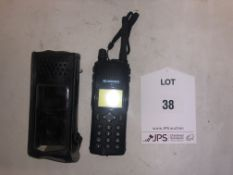 Simoco Handheld Radio w/ Case