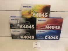 5 x Various Samsung Xpress Printer Cartridges as per photos