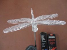 100 x Solar Colour Changing Dragonfly Light