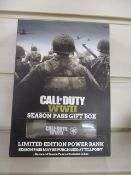 100 x Call of Duty WWII Limited Edition Power Bank | Season Pass expired for game