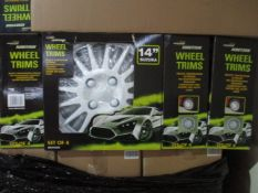 """50 x Sets of 4 Brookstone Wheel Trims 