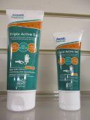 500 x Ansell Pre Glove Moisturiser Cream | Mixed Sizes