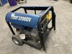Powercraft PC3200DV/10 Dual Voltage Petrol Generator