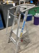 Zarges ZAP Safemaster S Collapsible Two Rung Step Ladder