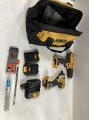 DeWalt Drill Set w/ Carry Bag | Drill | Impact Driver | Batteries