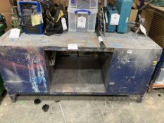 Large Steel Storage Unit / Workbench