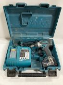 Makita DHP458 Drill Set w/ Charger & Battery
