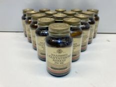 15 x Bottles of Maximised L-Glutathione Reduced 250mg Vegetable Capsules | RRP £480