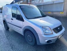 Silver Ford Transit Connect 90 T200 Trend | Reg: YK10 WDG | Miles: 147,822