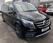 Black Mercedes-Benz V250 D AMG Line Auto Minibus | 2017 | 8 Seater | 129,598 Miles