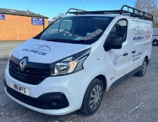 White Renault Trafic SL27 Business + DC Panel Van | 16 Plate | 46,941 miles