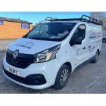 White Renault Trafic SL27 Business + DC Panel Van | 16 Plate | 46,941 miles
