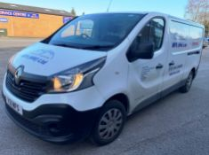 White Renault Trafic LL29 Business Enterprise Panel Van | 17 Plate | 30,418 miles