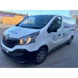 White Renault Trafic LL29 Business Enterprise Panel Van | 17 Plate | 30,418 miles