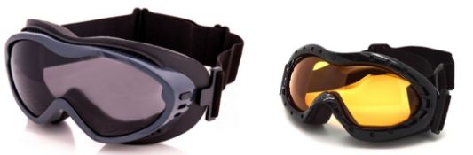 500 x Assorted Style Adult Ski Goggles