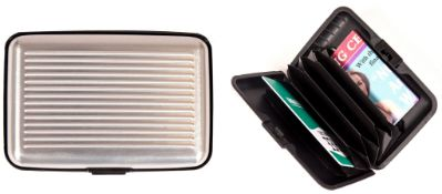 500 x Bodytronic Silver Card Holder