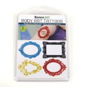 500 x Gamago Temporary Novelty Tattoo Kits | Total RRP£2,495