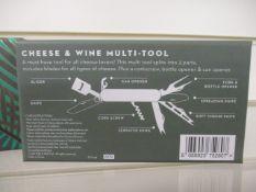 100 x Pretty Useful Cheese Wine Multi-tool   Total RRP£1,499