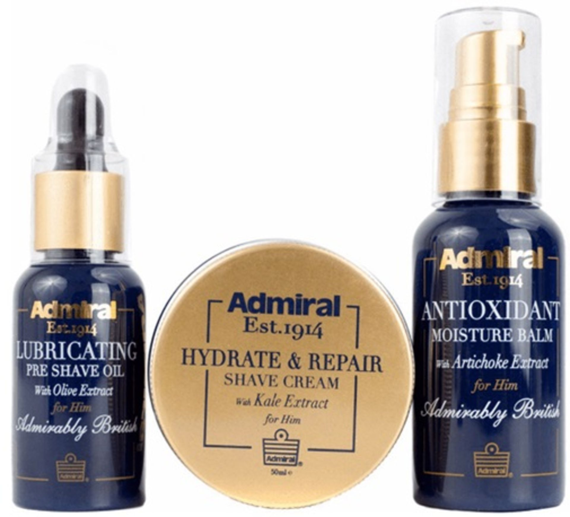 100 x Admiral Clean Shave Set | Total RRP £2,500 - Image 2 of 2