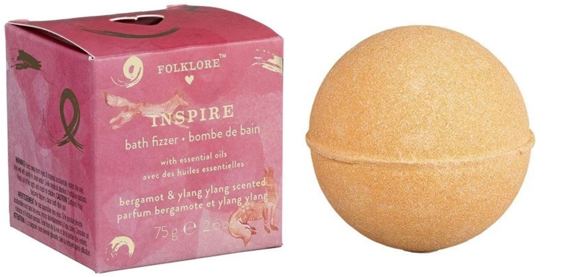 200 x Folklore Bath Bombs   Inspire