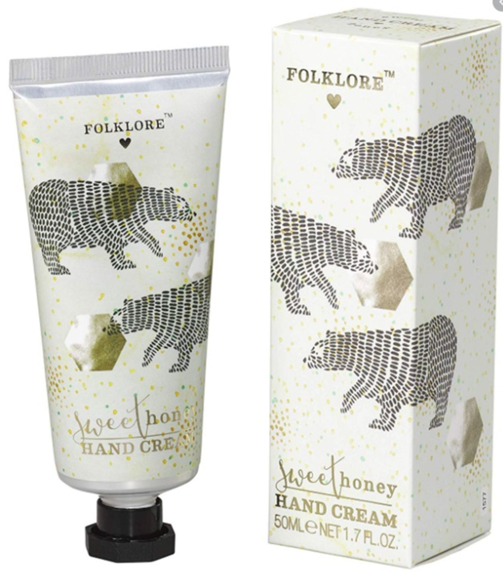 100 x Various Folklore Handcream | 50ml | Total RRP £899 - Image 4 of 4