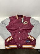 NFL Redskins Padded Jacket | Burgundy | Size: S