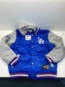 Majestic LA Dodgers Letterman Jacket | Blue | Size: M