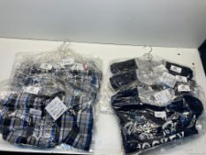 6 x Various Jockey Pyjama Trouser & Tops As Pictured