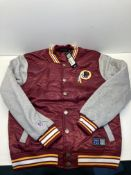 NFL Redskins Padded Jacket | Burgundy | Size: M