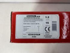 2 x Weldability Mig Wire | VZ181215LW | 1.2mm