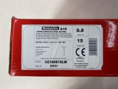 2 x Weldability Mig Wire | VZ180815LW | 0.8mm