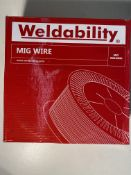 2 x Weldability Mig Wire | VZ181215LW | 1.2mm | Total RRP £80